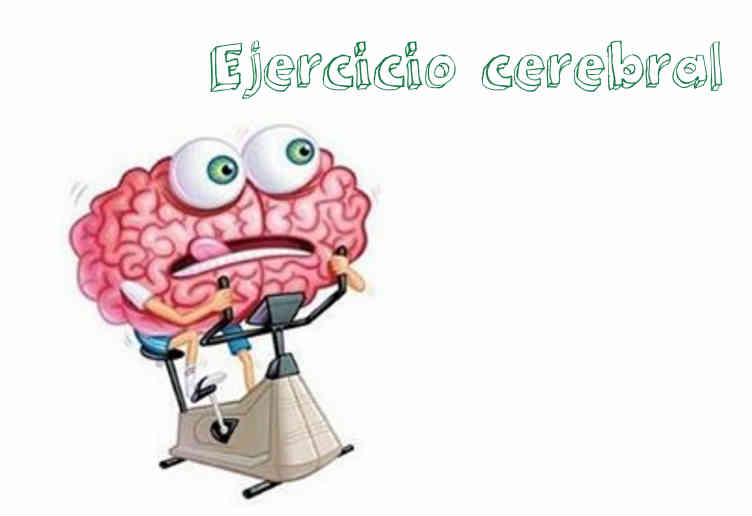 Ejercicio cerebral ¿A qué se refiere?