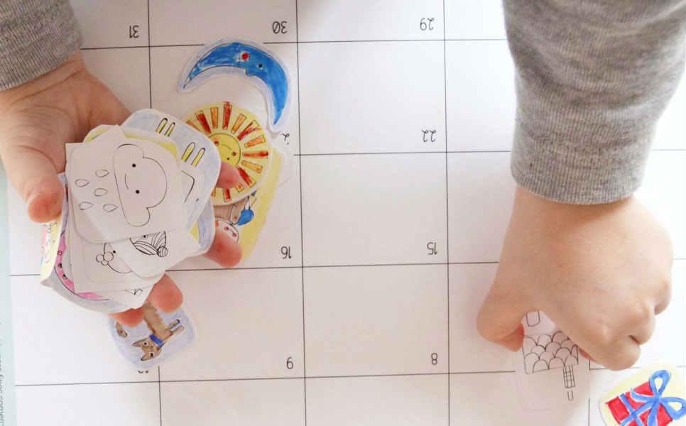 «El calendario sorpresa»