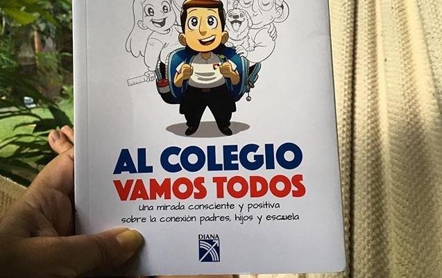 Reseña de mi libro Al colegio vamos todos escrita por una mamá