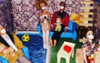 «Mis hijos le ponen tapabocas a los juguetes» – El juego de los niños en tiempos de Coronavirus